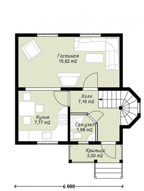 Дома из бруса серии ПДС 11-69