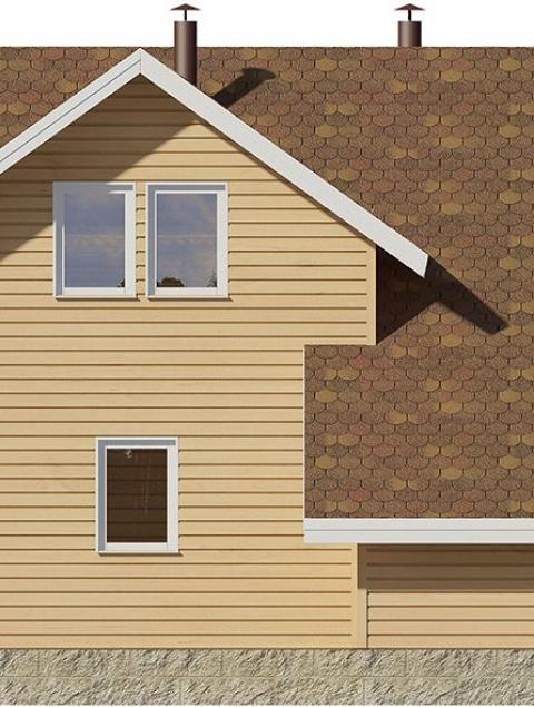 Дома из бруса серии ПДС 3-64