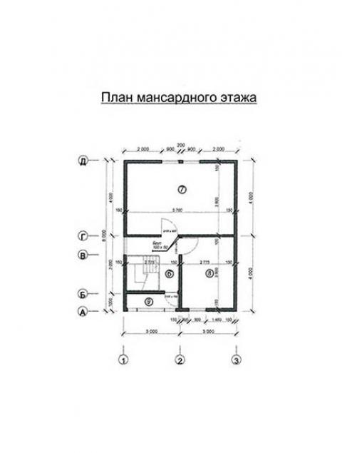 Дома из бруса серии ПДС 1-31