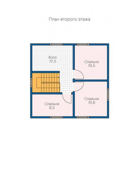 Дома из бруса серии БС 1-147