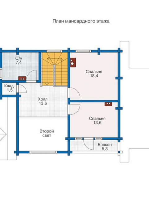 Дома из бруса серии БС 2-132